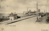 the old Latchford canal at Runcorn